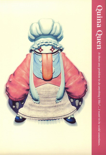 Square Enix, Final Fantasy IX Postcard Book, Final Fantasy IX, Quina Quen