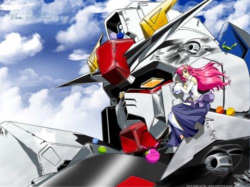 Sunrise (Studio), Mobile Suit Gundam SEED, Torii (Gundam SEED), Lacus Clyne, Haro Wallpaper