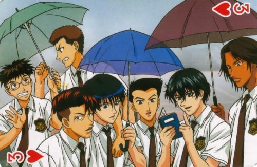 Takeshi Konomi, J.C. Staff, Prince of Tennis, Ichirou Kaneda, Hajime Mizuki