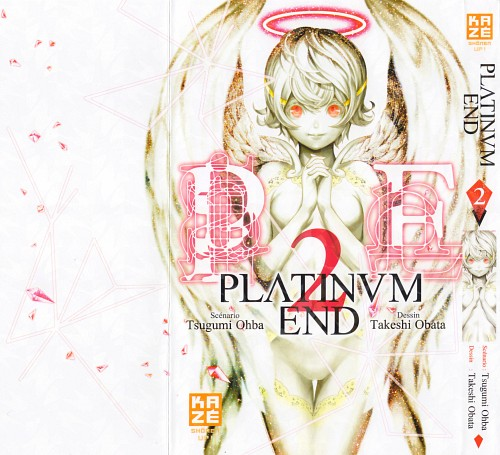 Takeshi Obata, Platinum End, Nacha, Manga Cover