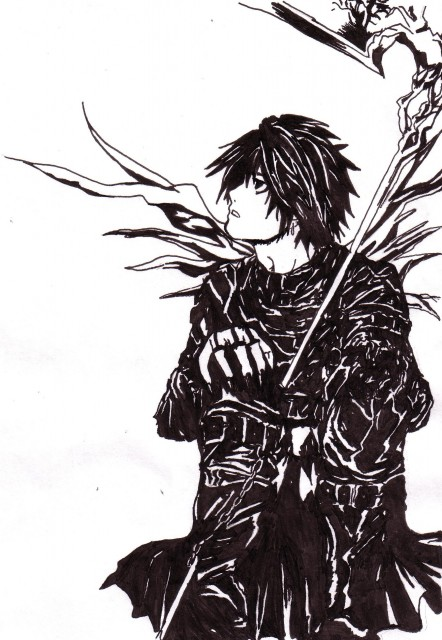 Takeshi Obata, Madhouse, Death Note, L, Member Art