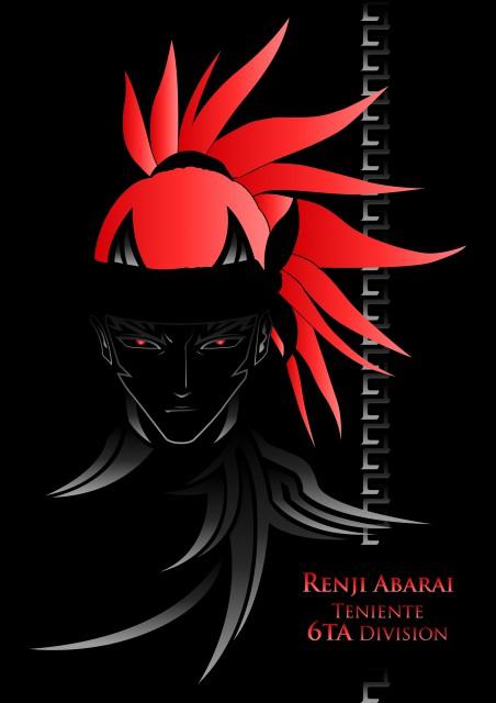 Kubo Tite, Studio Pierrot, Bleach, Renji Abarai, Vector Art