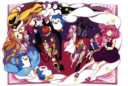 Lily Hoshino, Brains Base, Mawaru Penguindrum, Mawaru Penguindrum - Hoshino Lily Art Works, Himari Takakura