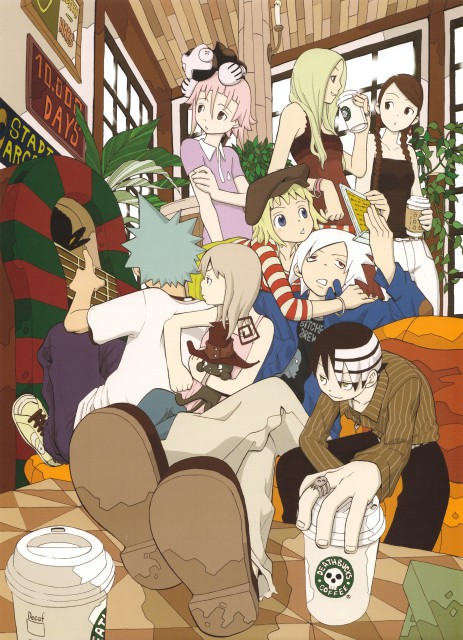 Atsushi Okubo, Soul Eater, Soul Art, Blair, Death The Kid