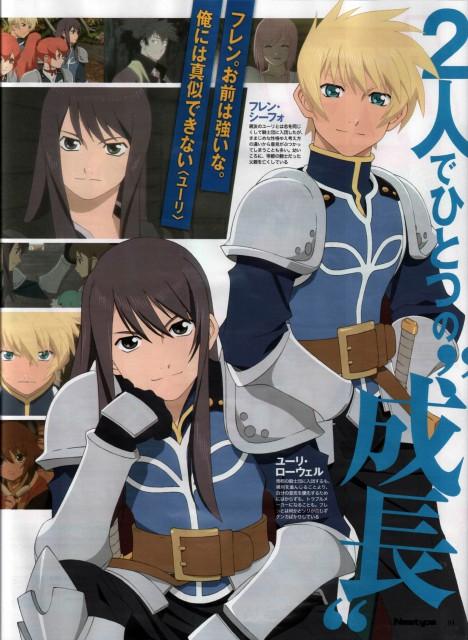 Kousuke Fujishima, Tales of Vesperia, Yuri Lowell, Flynn Scifo