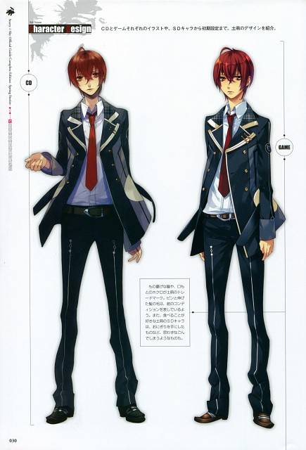 Kazuaki, Starry Sky Official Guide Complete Edition ~Spring Stories~, Starry Sky, Yoh Tomoe, Character Sheet