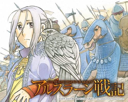 Hiromu Arakawa, Heroic Legend of Arslan (Hiromu Arakawa), Arslan (Hiromu Arakawa), Arslan, Official Wallpaper