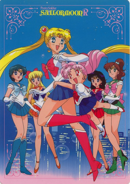 Toei Animation, Bishoujo Senshi Sailor Moon, Sailor Venus, Chibi Usa, Sailor Jupiter