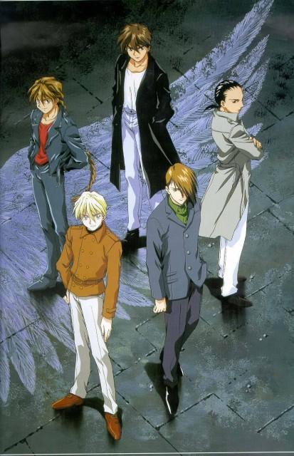 Sunrise (Studio), Mobile Suit Gundam Wing, Quatre Raberba Winner, Chang Wufei, Heero Yuy