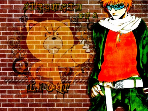 Kubo Tite, Studio Pierrot, Bleach, Kon, Ichigo Kurosaki Wallpaper
