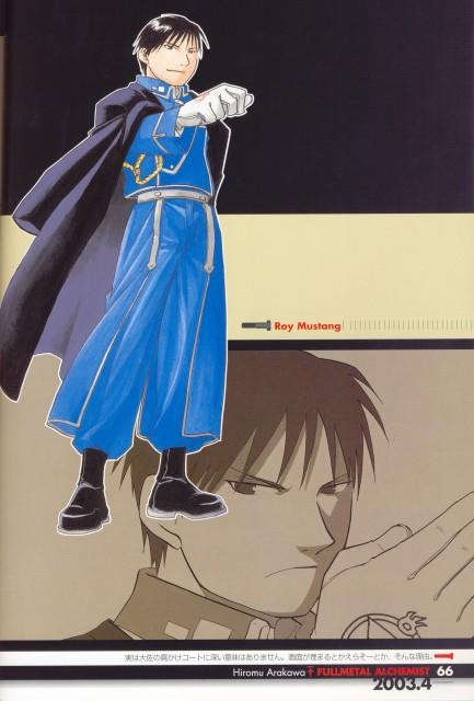 Hiromu Arakawa, Fullmetal Alchemist, Fullmetal Alchemist Artbook Vol. 1, Roy Mustang