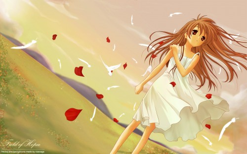 Madhouse, Kyoto Animation, Clannad, Girl From the Illusionary World Wallpaper