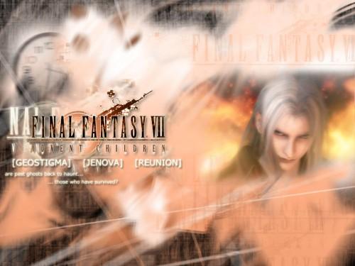 Final Fantasy VII: Advent Children, Sephiroth Wallpaper
