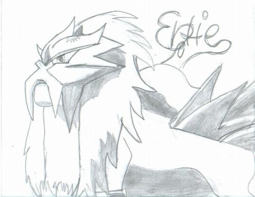 Pokémon, Entei, Member Art