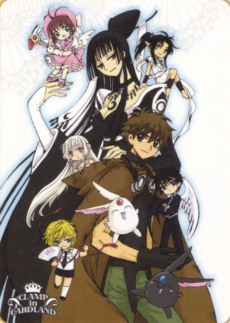CLAMP, CLAMP Campus Detectives, RG Veda, Chobits, X
