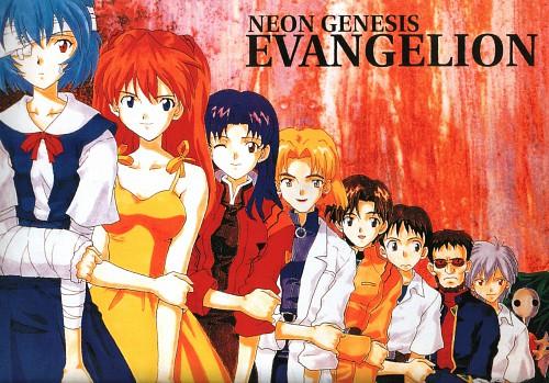 Yoshiyuki Sadamoto, Gainax, Neon Genesis Evangelion, Asuka Langley Soryu, Ritsuko Akagi