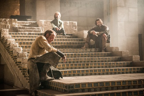 Game of Thrones, Tyrion Lannister, Daario Naharis, Jorah Mormont