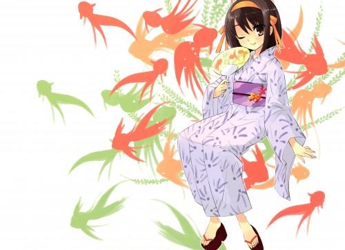 Noizi Ito, Kyoto Animation, UNiSONSHIFT, The Melancholy of Suzumiya Haruhi, Haruhi Suzumiya