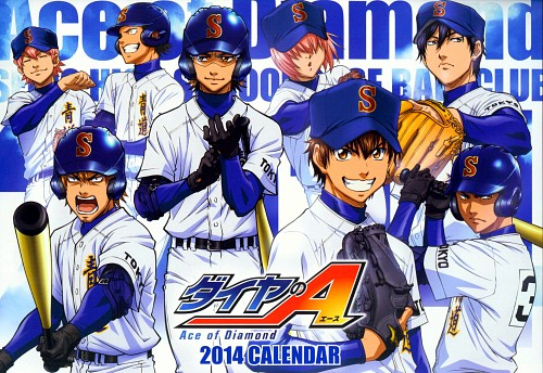 Yuuji Terajima, Ace of Diamond, Ryousuke Kominato, Jun Isashiki, Eijun Sawamura