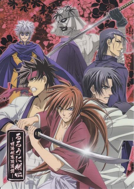 Atsuko Nakajima, Nobuhiro Watsuki, Studio DEEN, Rurouni Kenshin, Sanosuke Sagara