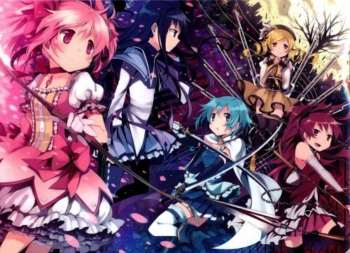 Hanokage, Shaft (Studio), Puella Magi Madoka Magica, Homura Akemi, Mami Tomoe