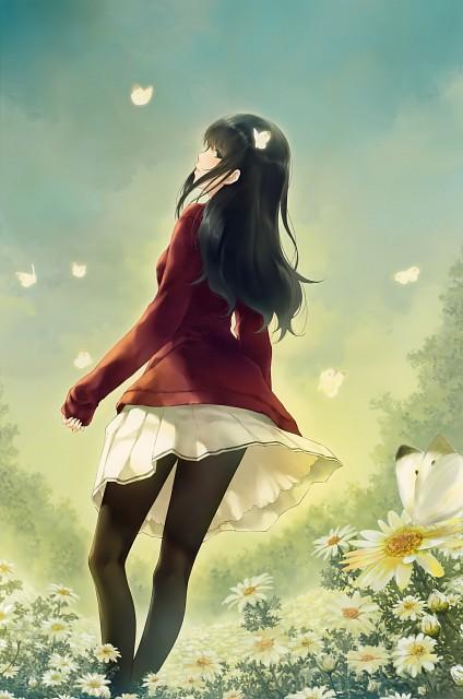 Miki Sugina, Kasou (Artbook), FLOWERS (Visual Novel), Suoh Shirahane