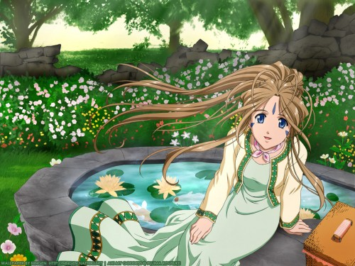 Kousuke Fujishima, Anime International Company, Ah! Megami-sama, Belldandy Wallpaper