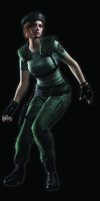 Capcom, Resident Evil 1, Jill Valentine, Official Digital Art