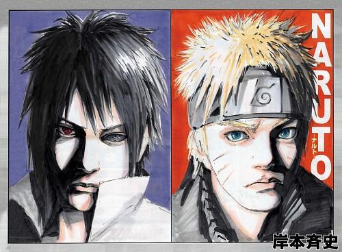 Naruto, Naruto Uzumaki, Sasuke Uchiha, Shonen Jump, Manga Cover