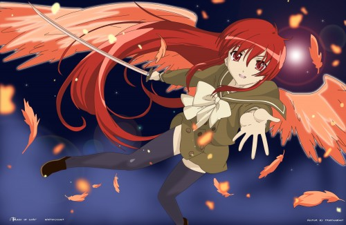 Shakugan no Shana, Shana, Vector Art