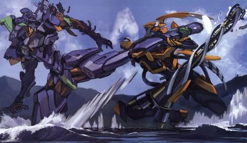 Ikuto Yamashita, Neon Genesis Evangelion, Unit-01, Unit-00