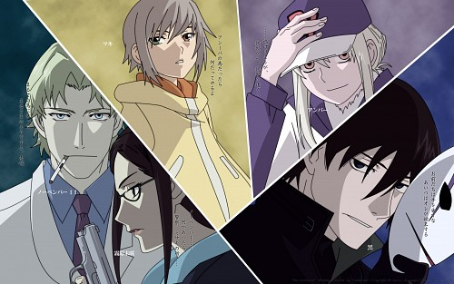 BONES, Darker than Black, November 11, Amber, Misaki Kirihara Wallpaper