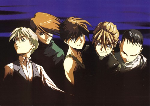 Sunrise (Studio), Mobile Suit Gundam Wing, Duo Maxwell, Heero Yuy, Chang Wufei