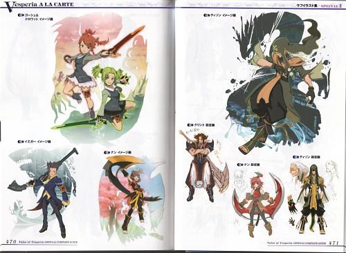 Kousuke Fujishima, Tales of Vesperia, Hisca Aiheap, Droite, Patty Fleur