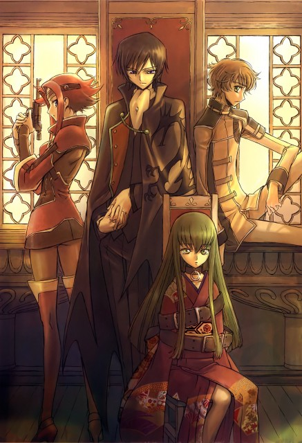 RICCA, Takahiro Kimura, Sunrise (Studio), Lelouch of the Rebellion, Code Geass Ilustrations Rebels