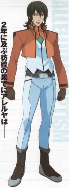 Sunrise (Studio), Mobile Suit Gundam 00, Allelujah Haptism