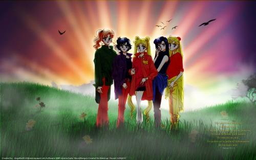 Naoko Takeuchi, Bishoujo Senshi Sailor Moon, BSSM Original Picture Collection Vol. III, Rei Hino, Ami Mizuno Wallpaper