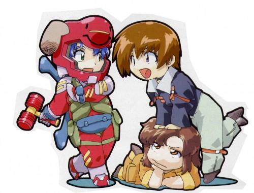 RGB, Sunrise (Studio), Mobile Suit Gundam SEED, Murrue Ramius, Kira Yamato