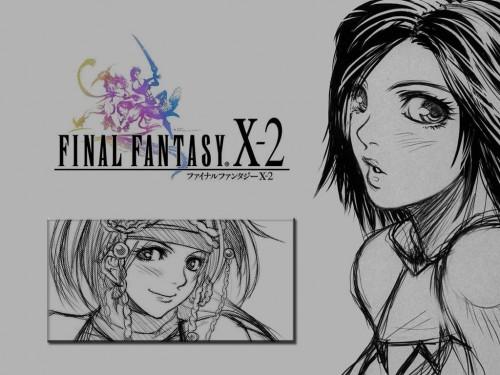 Square Enix, Final Fantasy X-2, Rikku, Yuna Wallpaper