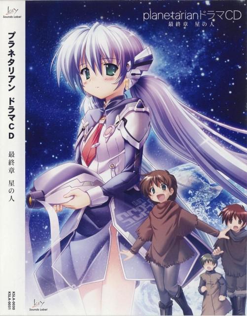 E-ji Komatsu, Key (Studio), Planetarian, Susumu Akino, Yumemi Hoshino