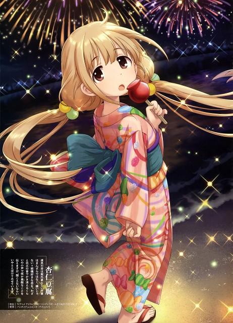 Annindofu, Idol Master: Cinderella Girls, Anzu Futaba, Dengeki Moeoh