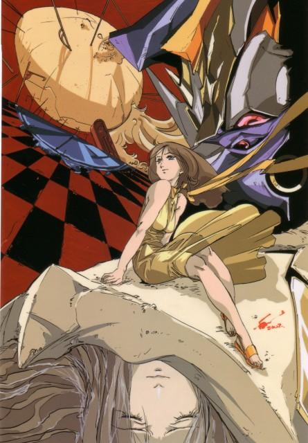 BONES, RahXephon, RahXephon Illustrations Collection, Reika Mishima