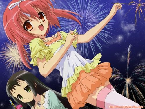Nanatsuiro Drops, Nadeshiko Yaeno, Yuki-chan (Nanatsuiro Drops), Sumomo Akihime Wallpaper