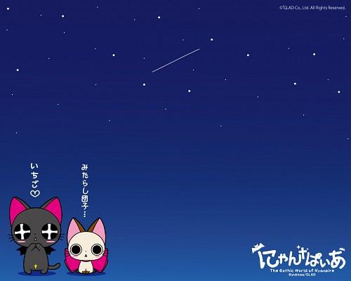 Gonzo, Nyanpire the Animation, Chachamaru, Nyanpire