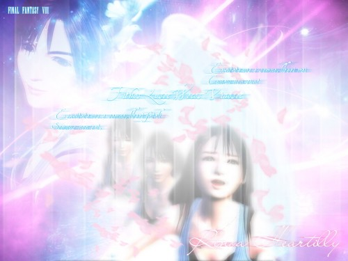 Square Enix, Final Fantasy VIII, Rinoa Heartilly Wallpaper