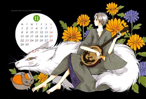 Yuki Midorikawa, Natsume Yuujinchou, LaLa Kiremeki Star Calendar 2010, Takashi Natsume, Riou (Natsume Yuujinchou)