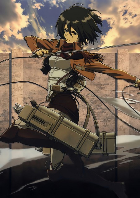 Hajime Isayama, Production I.G, Shingeki no Kyojin, Mikasa Ackerman