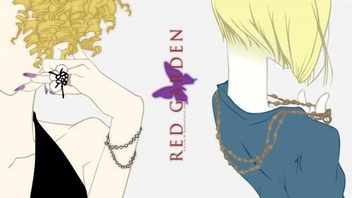 Kirihito Ayamura, Gonzo, Red Garden, Rachel Benning, Kate Ashley Wallpaper