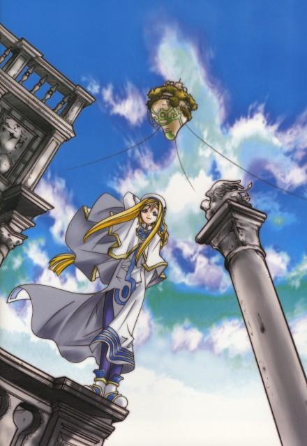 Kozue Amano, Aria, Alpha: Kozue Amano Illustration Works, Alicia Florence