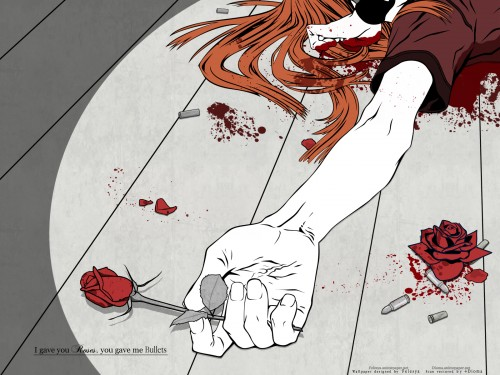 Miwa Shirow, Dogs: Bullets and Carnage, Badou Nails Wallpaper
